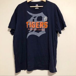 DETROIT TIGERS Baseball Team T Shirt Navy Blue